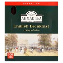Čaj AHMAD English Breakfast 100x2g sacku alupack