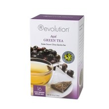 Čaj Revolution Tea - Acaí Green Tea,16ks, ekonom