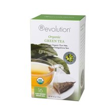 Čaj Revolution Tea - Organic green, 16ks, ekonom
