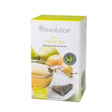 Čaj Revolution Tea - White Pear, 16ks, ekonom